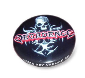 DECADENCE Sweden - Deca Badge