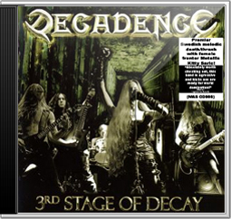 DECADENCE Sweden - 3rd Stage of Decay (Worldwide Edition)