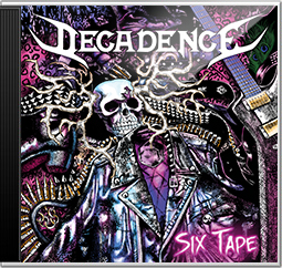 Decadence Sweden Six Tape CD Album